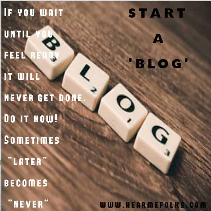 start a blog,blog,blogging