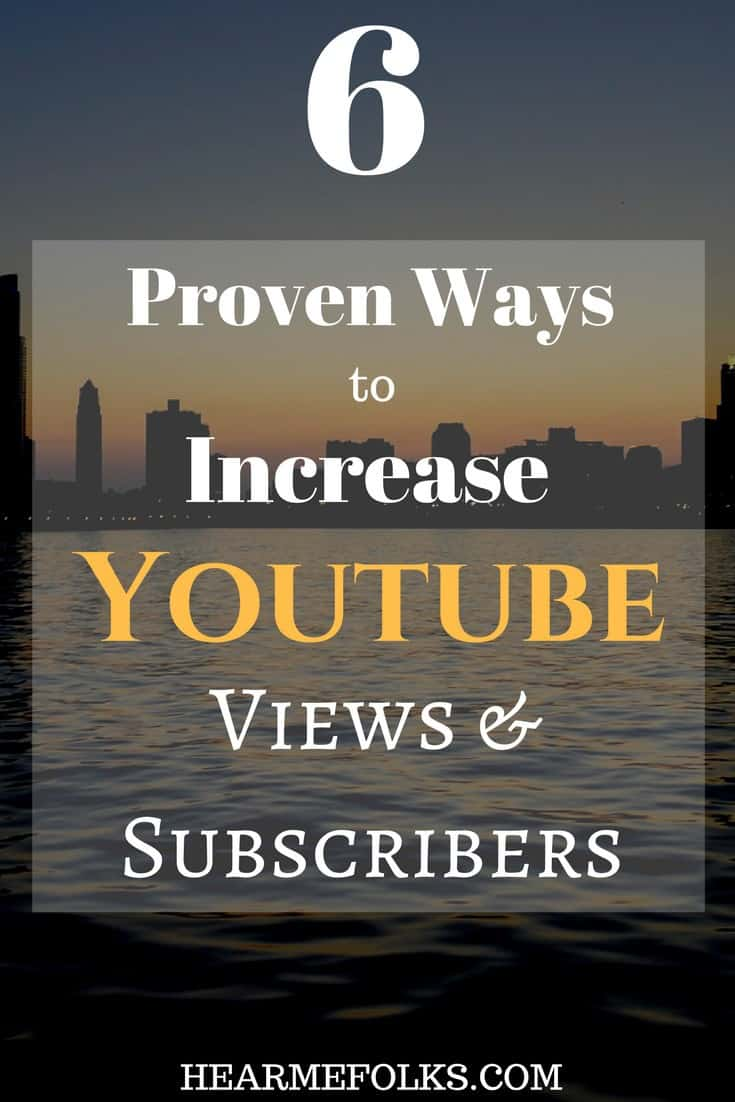 increase youtube views and subscribers