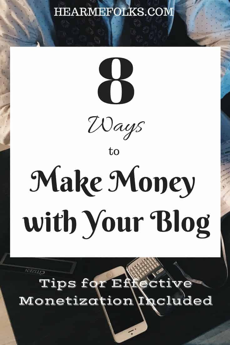 tips for beginners to monetizing your blog and make money blogging working from home