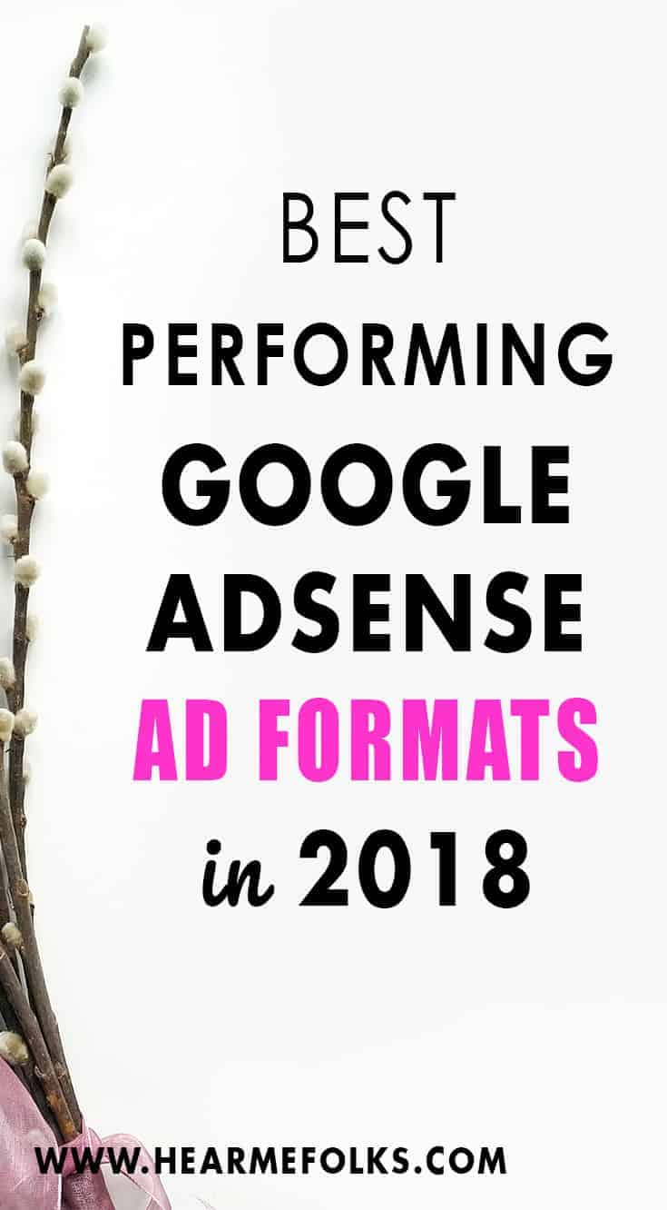 Best performing Google Adsense Ads to increase your adsense revenue