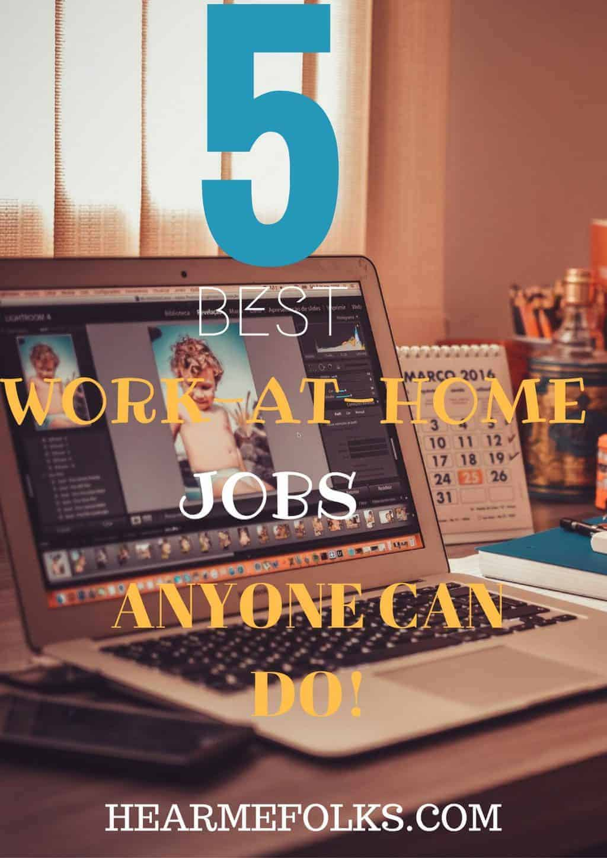 5 Best WAH Jobs for Beginners to Make Money Online