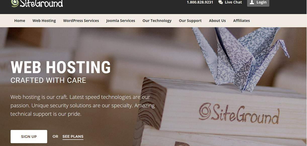 siteground signup start a blog