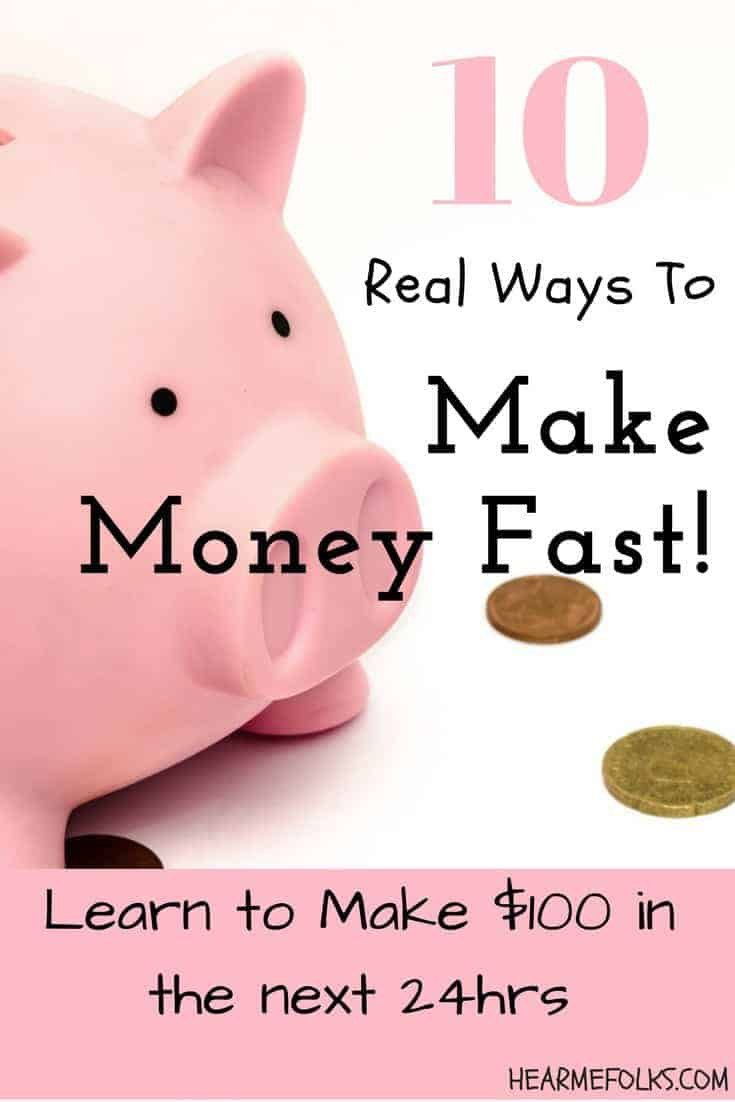 Looking for ideas to make extra money fast in your spare time doing simple tasks, get them here