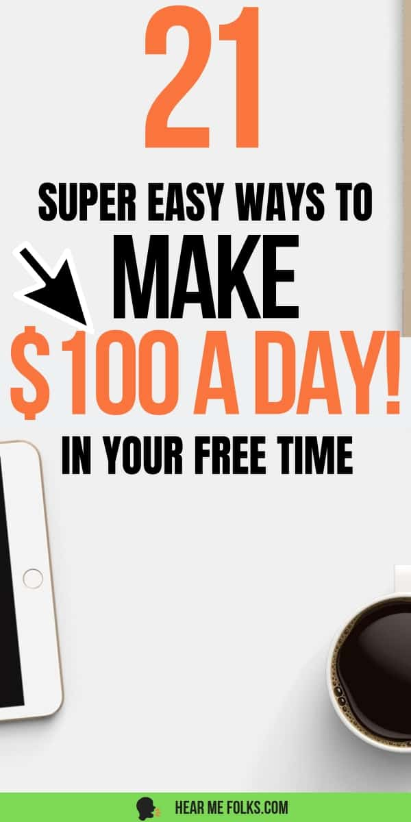Money making ideas. If so, check out this post filled with different ways to make extra money each month.- side hustles, make extra money, ways to make extra money, work from home. From the simple side hustles to extra money making ideas to full blown startup passive income ideas, this list is filled with all sorts of ways to make extra money. Get on it! #smallbusinessideas #passiveincomeideas @hearmefolks #sidejobsfromhome #extracash #stayathomejobsextramoney