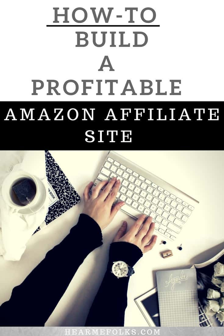The Ultimate Beginners Guide to building an amazon affiliate niche site to make money online as a side job