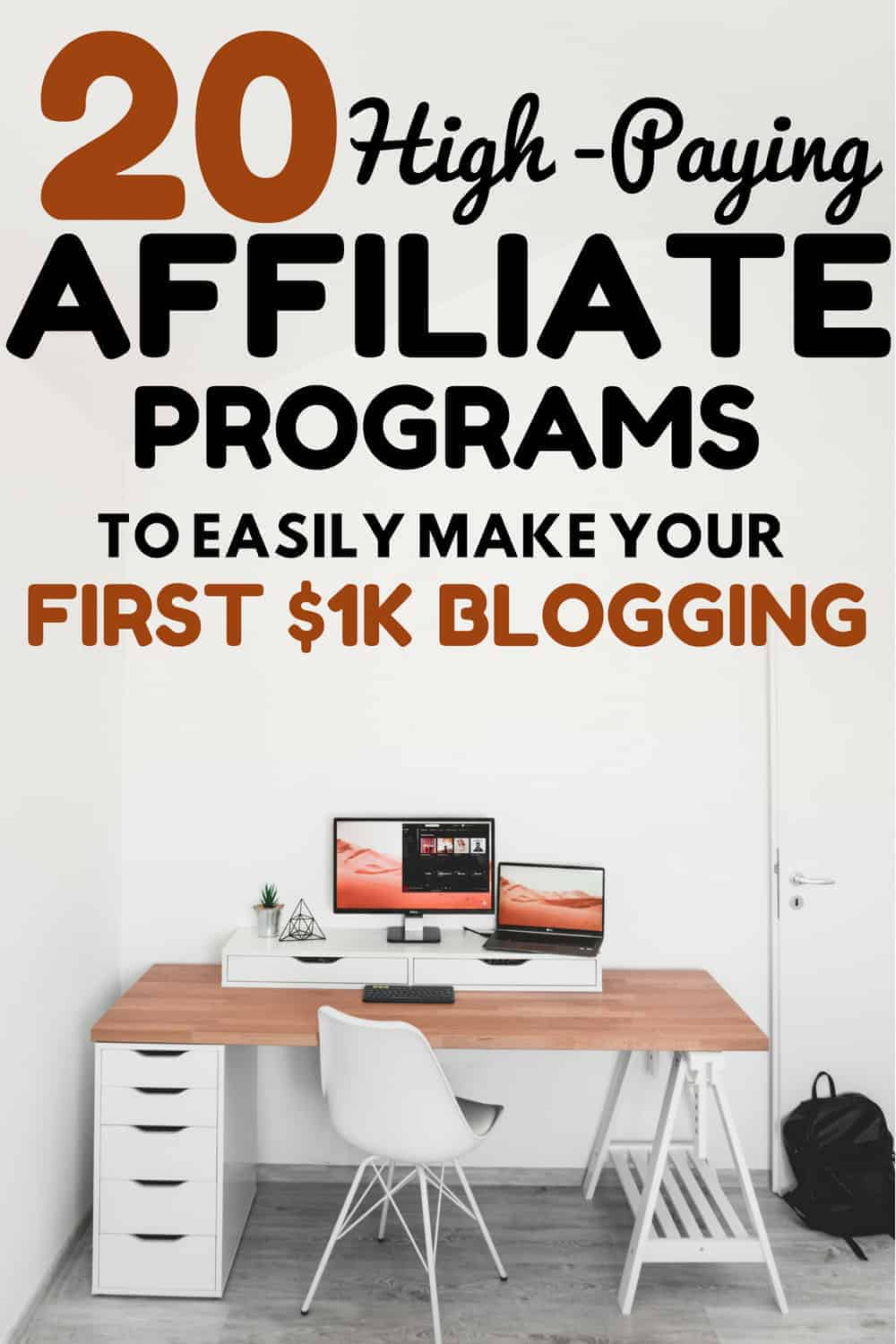Best affiliate marketing programs for bloggers and content creators that pay well #affiliatemarketing #blogging #bloggingtips #workfromhome #makemoneyonline #makemoneyblogging