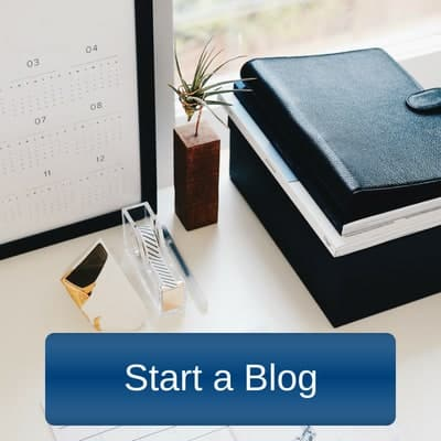 Start a Blog to make money from home