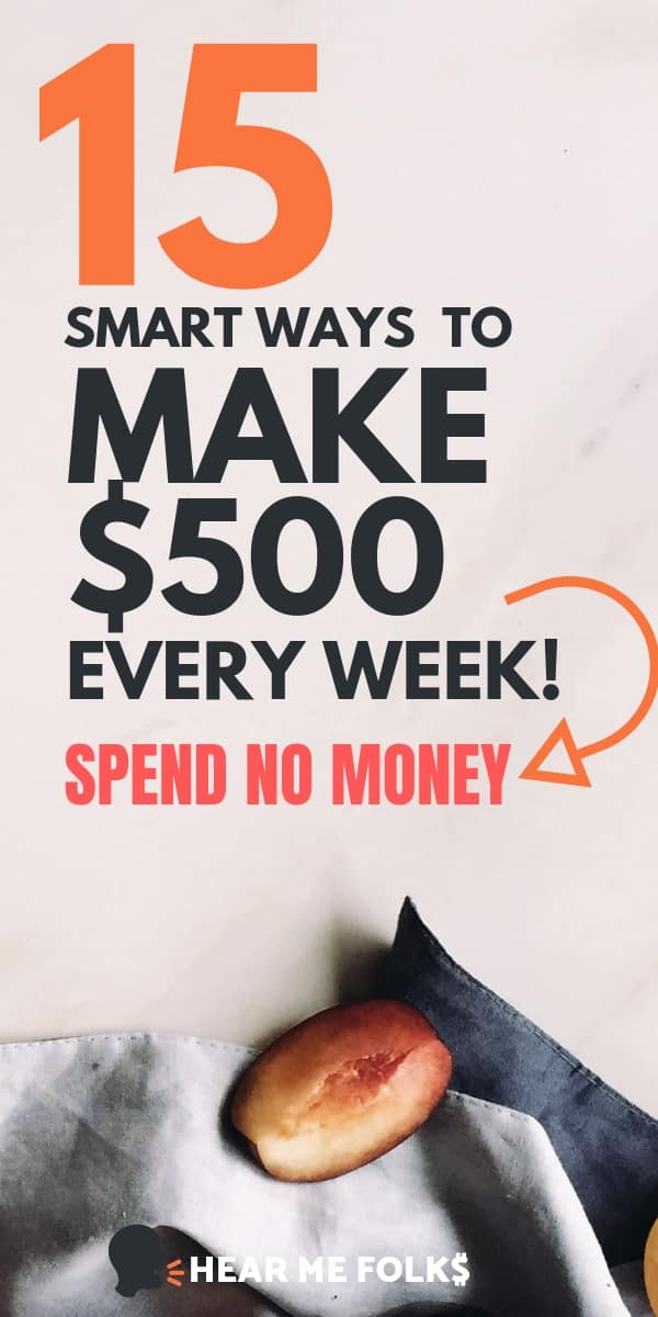 earn money online: 15 easy-peasy ways to make money without spending a penny. Learn to make extra cash with these genuine online jobs #onlinemoneymaking