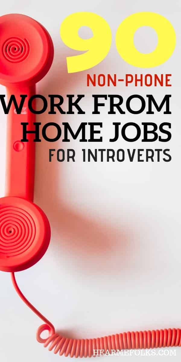 90+ Non-Phone Work from Home jobs You Can Apply Today | HearMeFolks