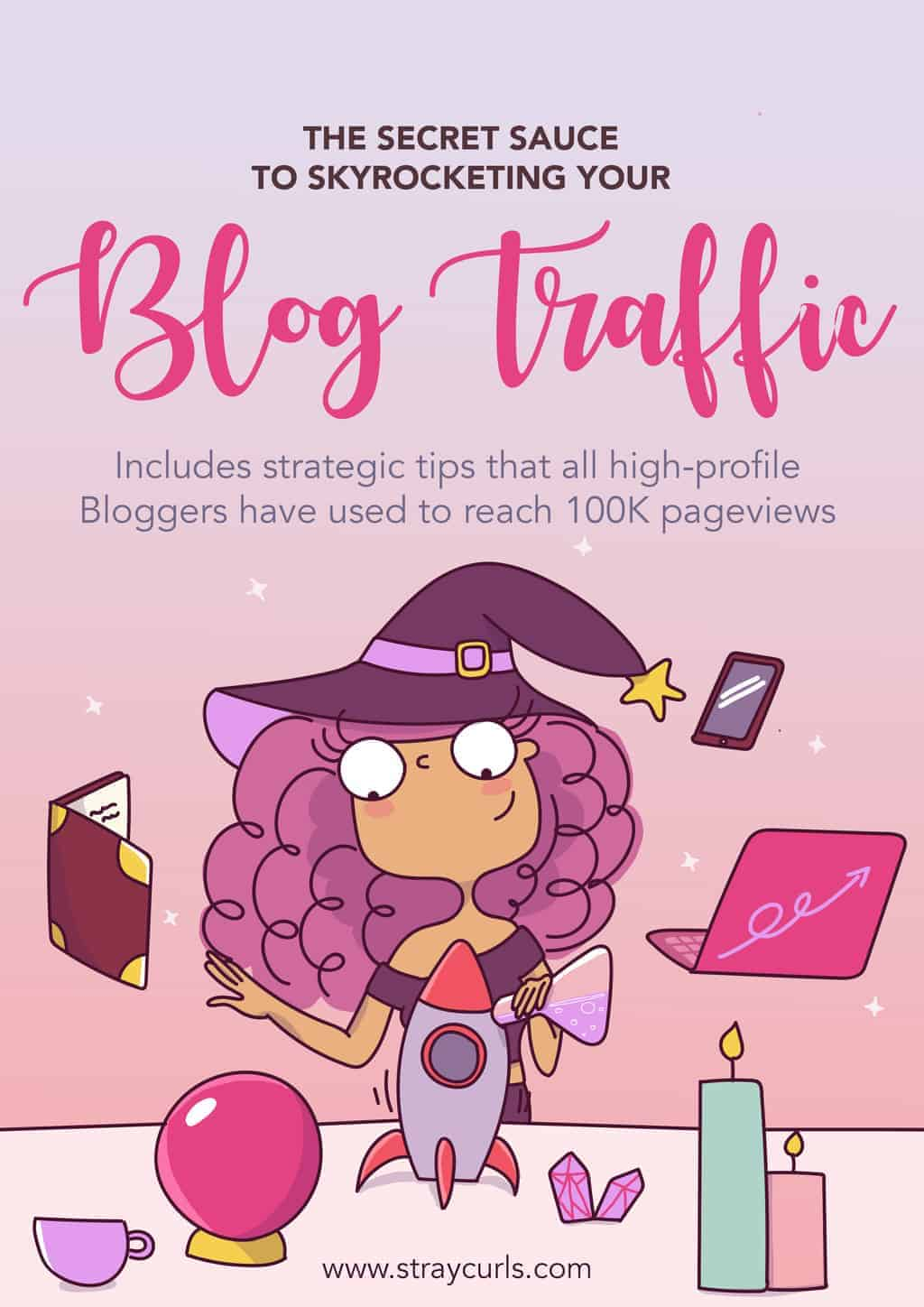 explode your blog traffic and make money as an illustrator