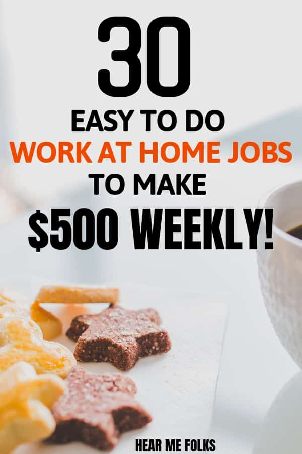 legitimate work from home online jobs to make money online and get paid weekly #workfromhomejobslegitimate #onlinejobs #weeklypayingjobs