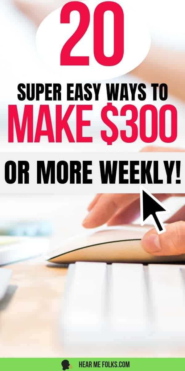 Make Money Online. Learn how to make $300 a month from home and get paid weekly from legitimate work from home jobs.