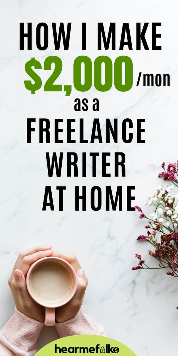 freelance writing for beginners: How to make money from home offering freelance writing services. #makemoneyfromhome #workfromhome #freelancewriting