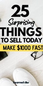 best things to make money. Sell online to make extra cash