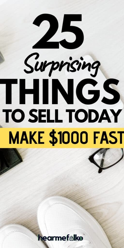best things to make money. Sell online to make extra cash #sellonline #bestthingstomakemoney