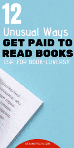 get paid to read books, get paid to read articles, get paid to give book reviews