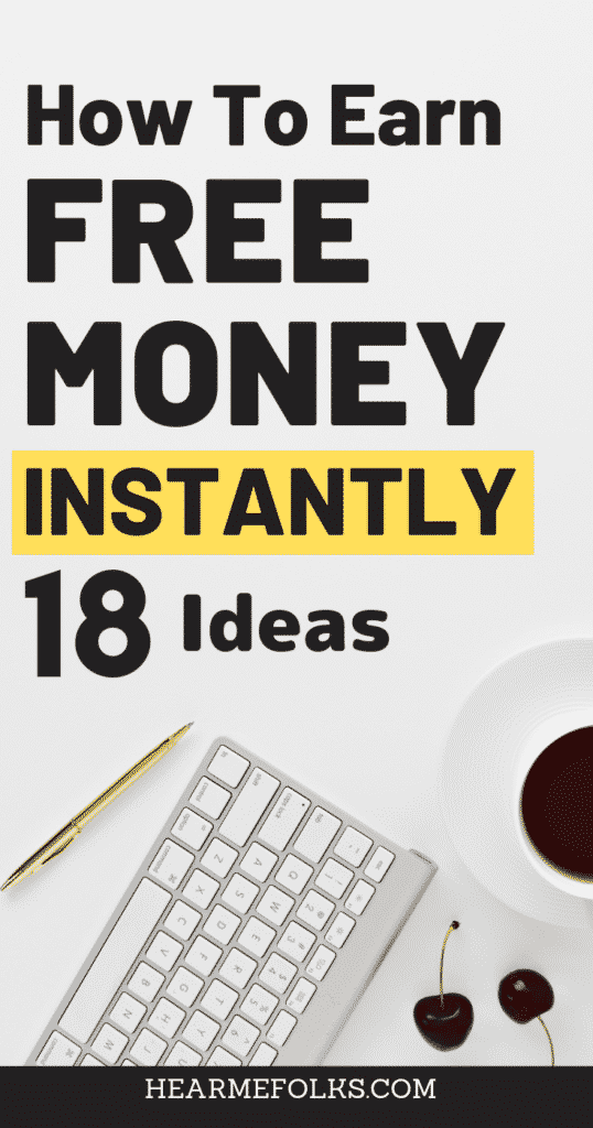 how to earn free PayPal money instantly