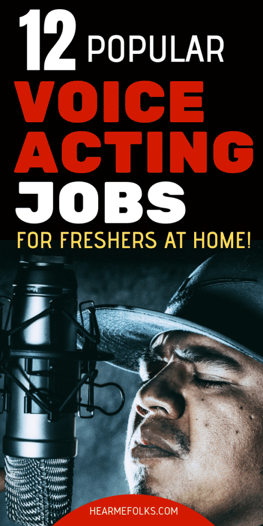 voice acting jobs for beginners