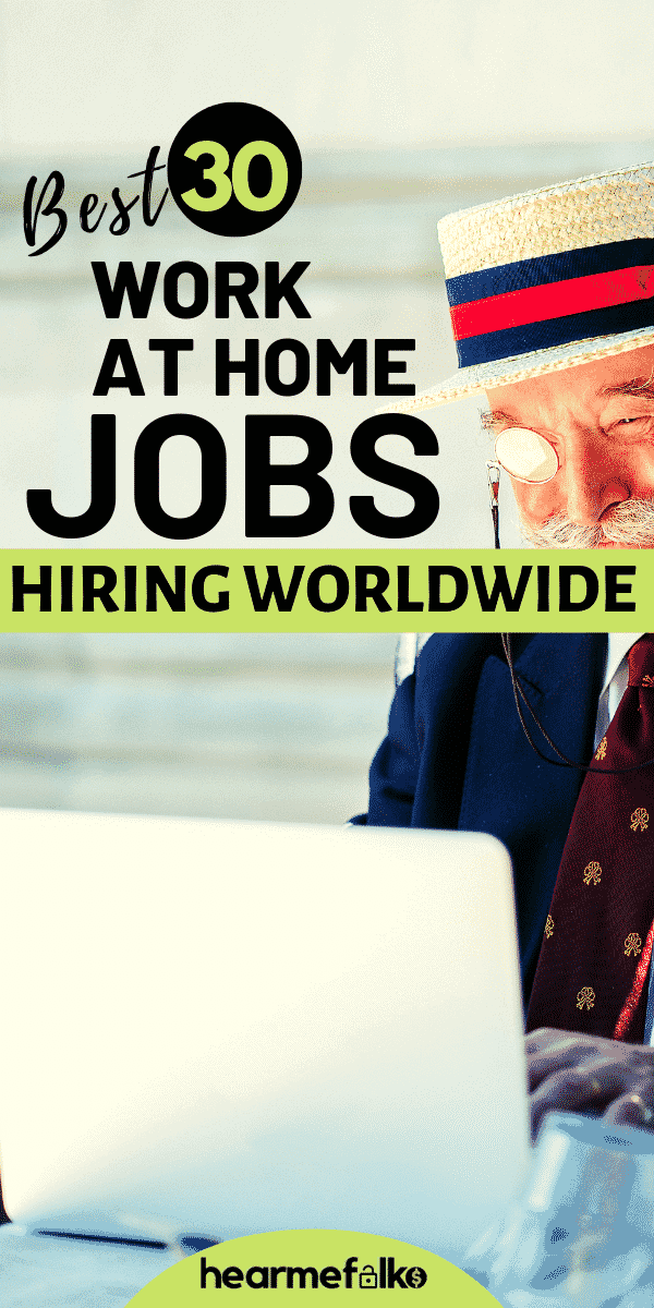 global work from home jobs