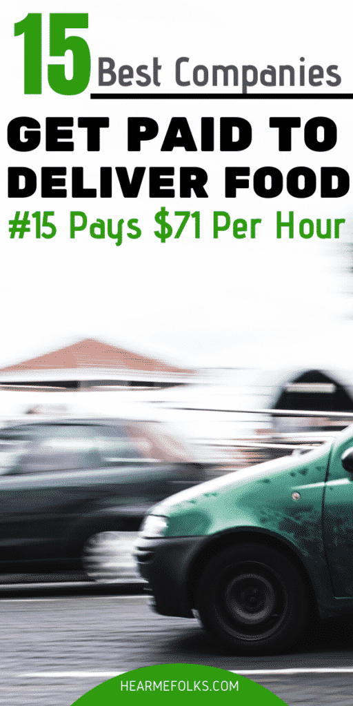 food delivery driver jobs near me