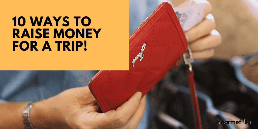 ways to raise money for a trip