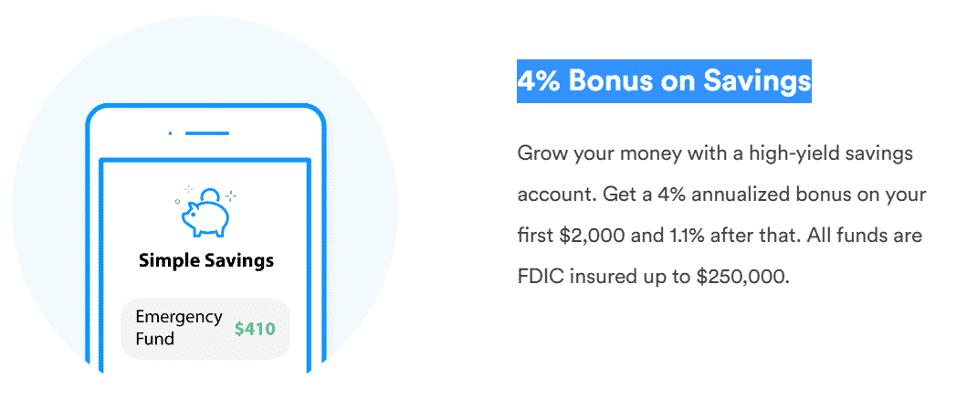 Trim is a highest paying app to grow your money