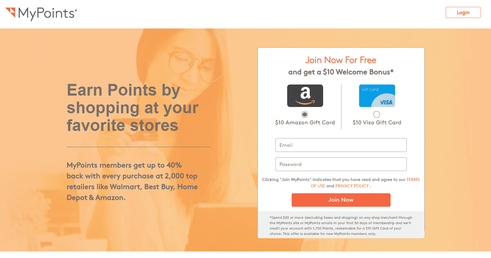 mypoints app that pays for shopping
