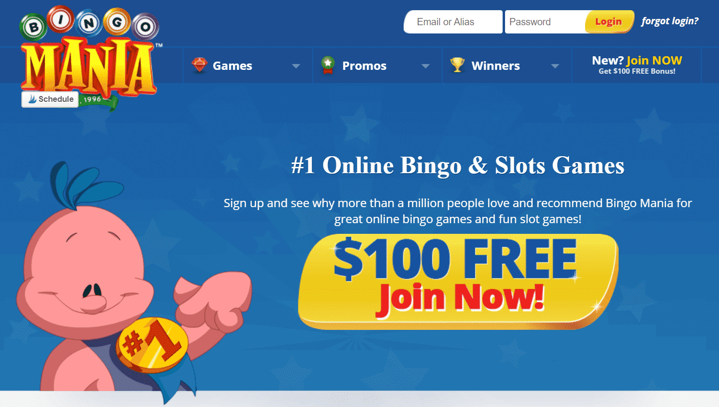 Bingo mania - earn money playing games