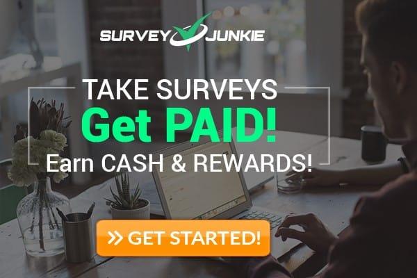 Survey Junkie rewards $5 instantly