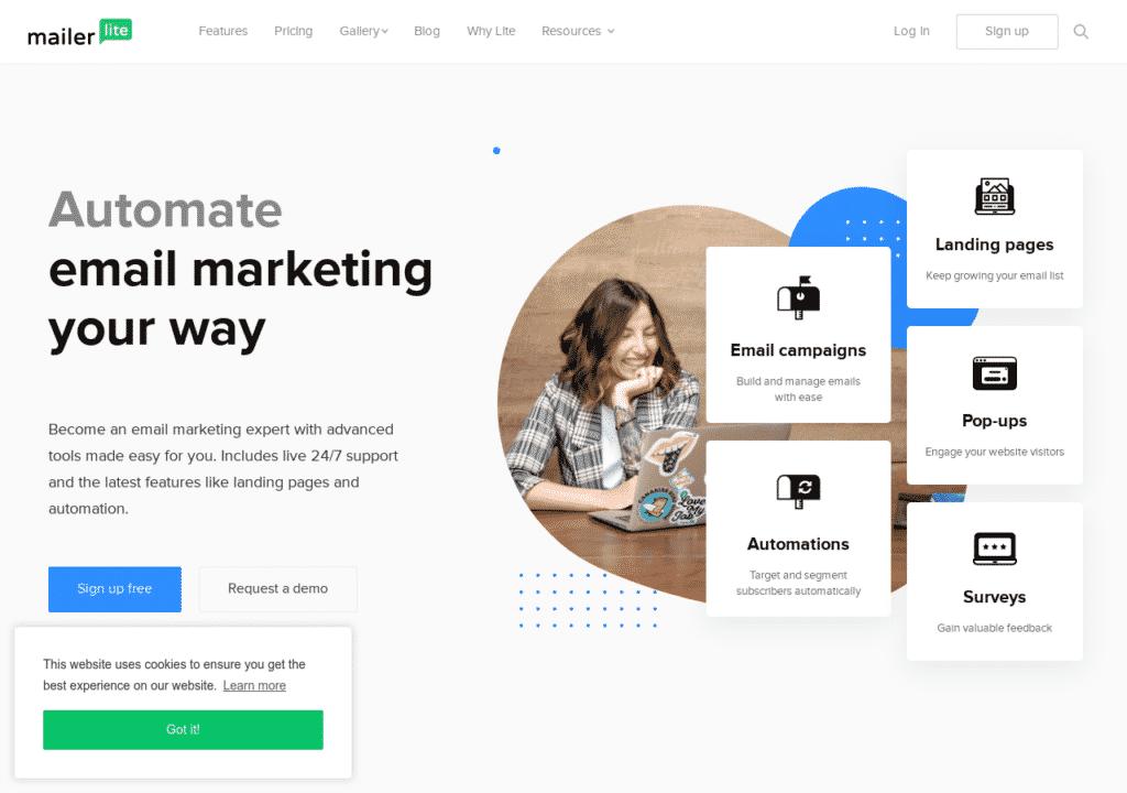 Create Email Marketing Your Way MailerLite
