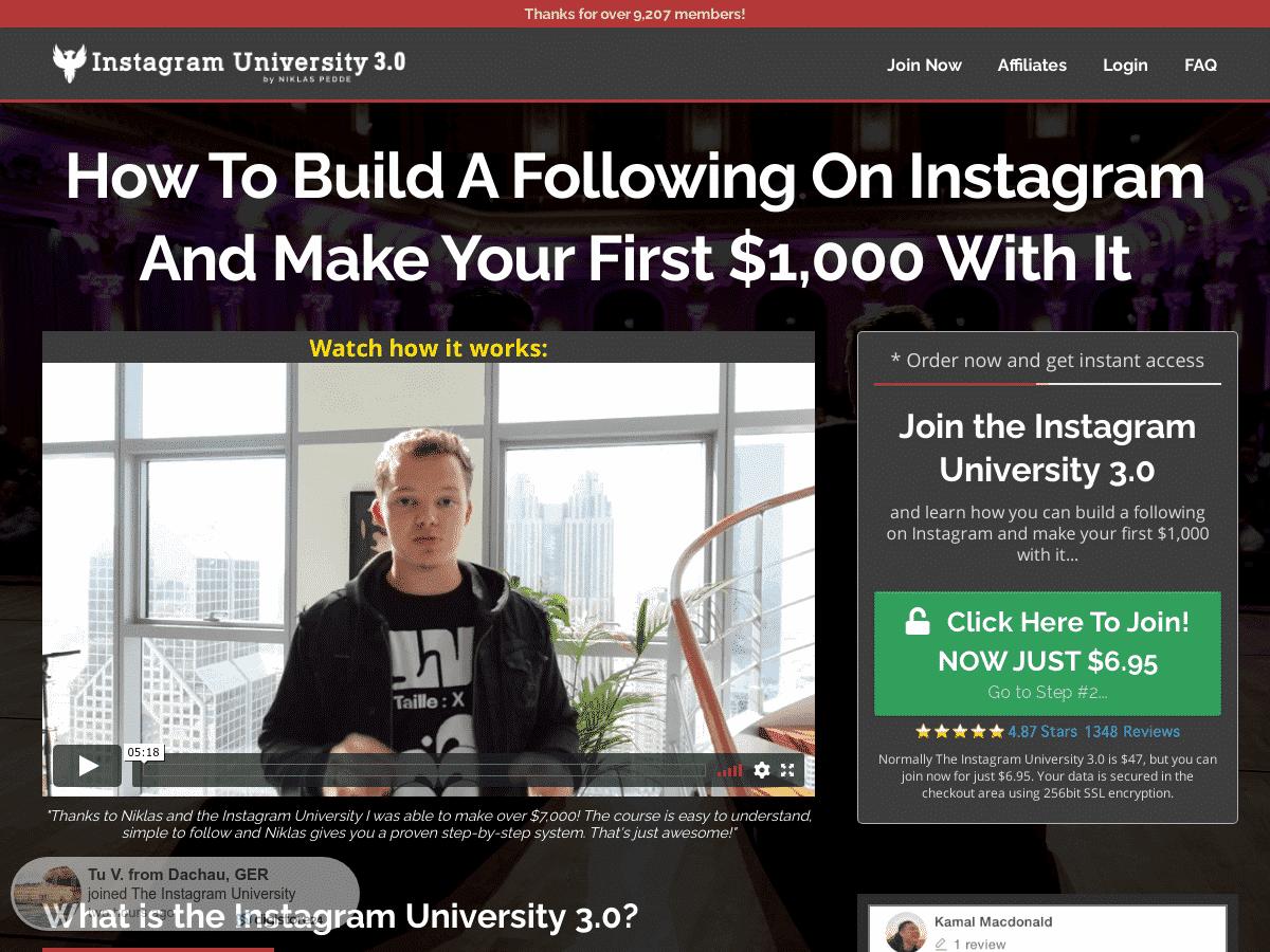 Instagram University 3.0