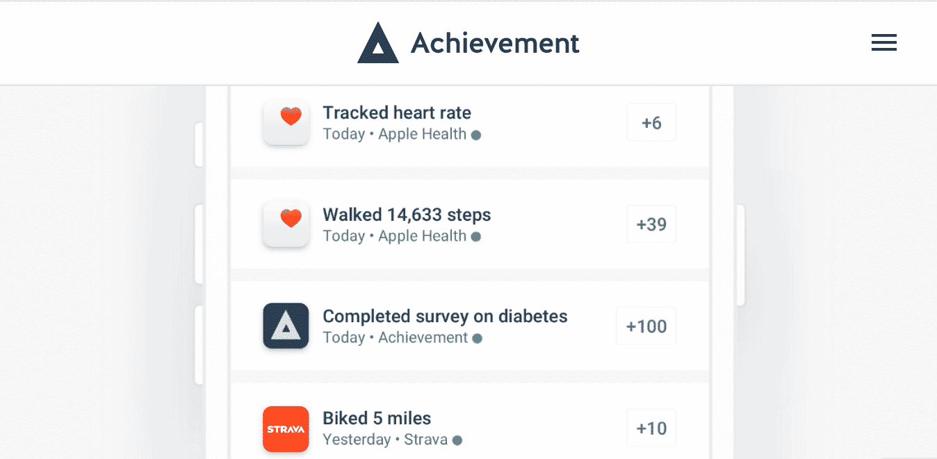 achievement - get paid to walk