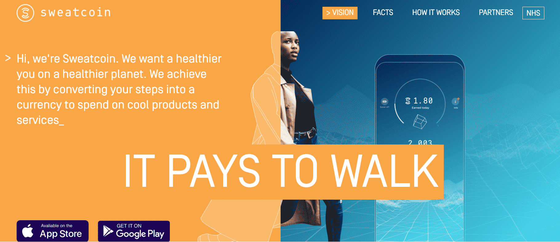 earn money by walking