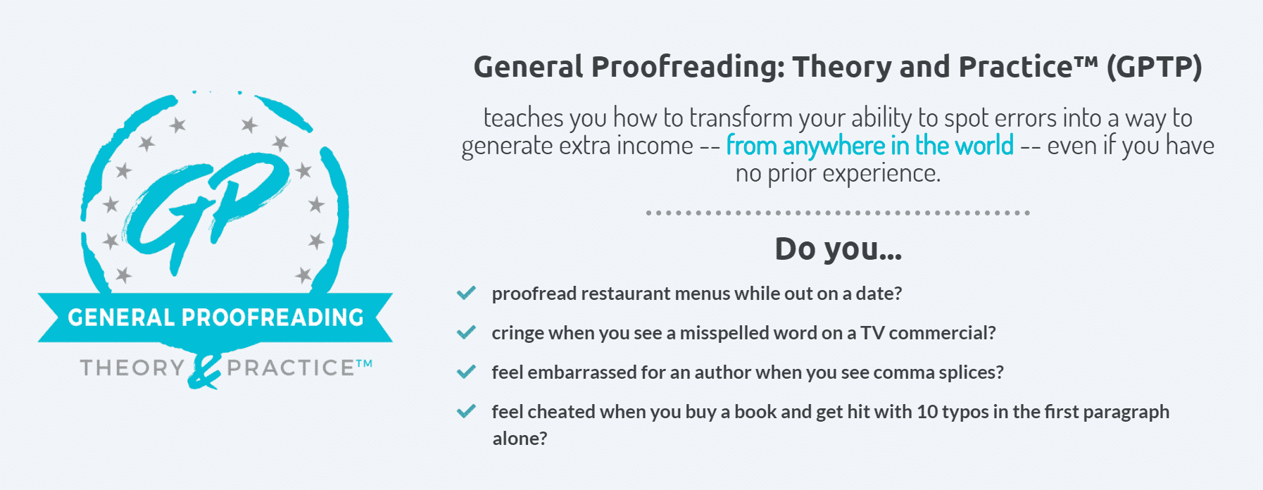 All about General Proofreading