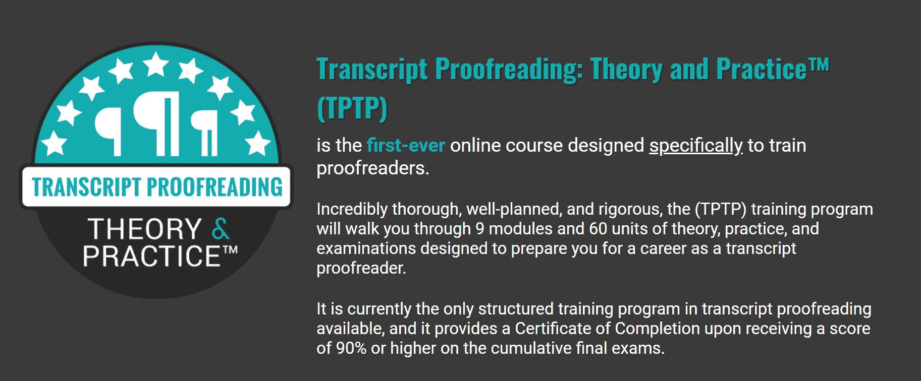 Transcript Proofreading