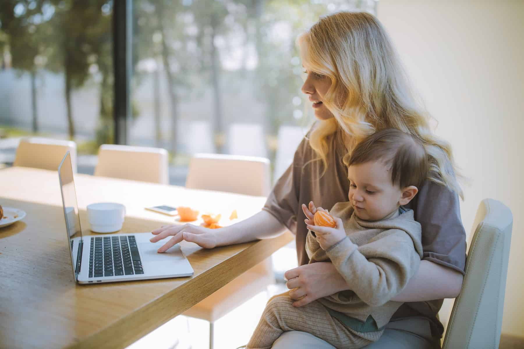 side hustles for single moms with kids at home