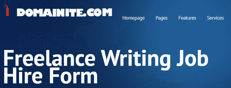 Domainite Freelance Writing Jobs