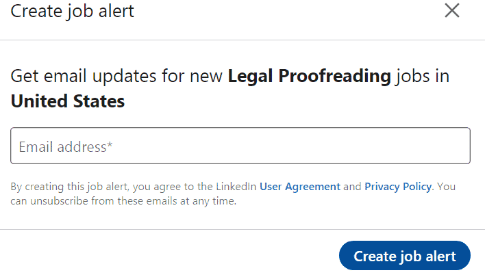 Legal Proofreading Jobs in LinkedIn