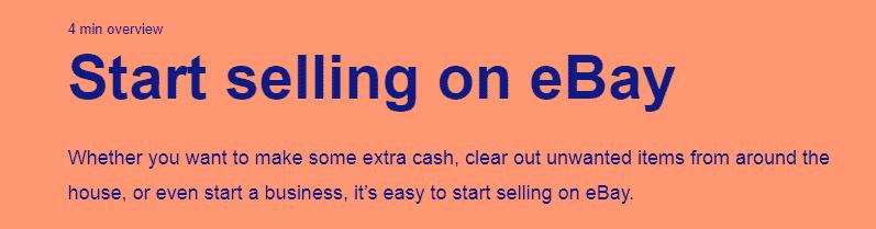 Selling textbooks on eBay