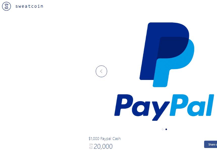 Sweatcpin PayPal Cash