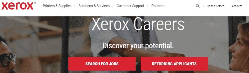 data entry jobs on Xerox