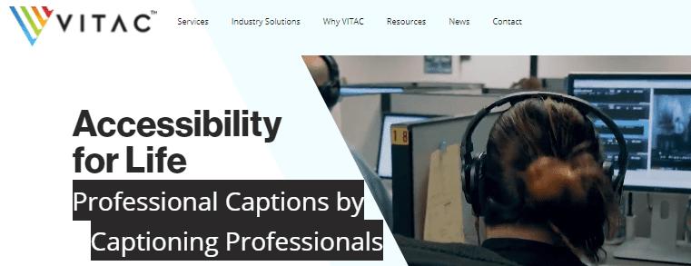Captioning jobs for beginners on Vitac