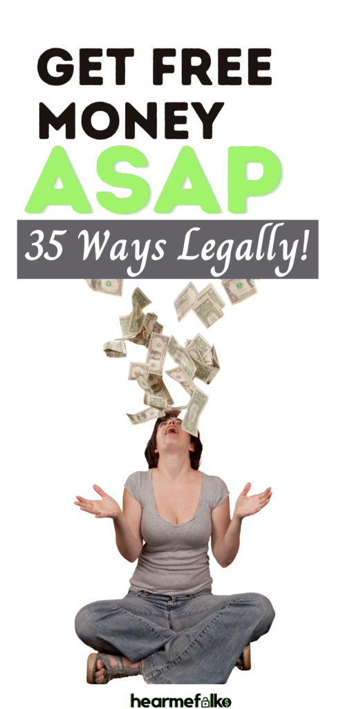 Get Free Money - Here's a quick list of a few easy-peasy ways to accumulate cash especially, when you need money now or today. Make Money Fast!