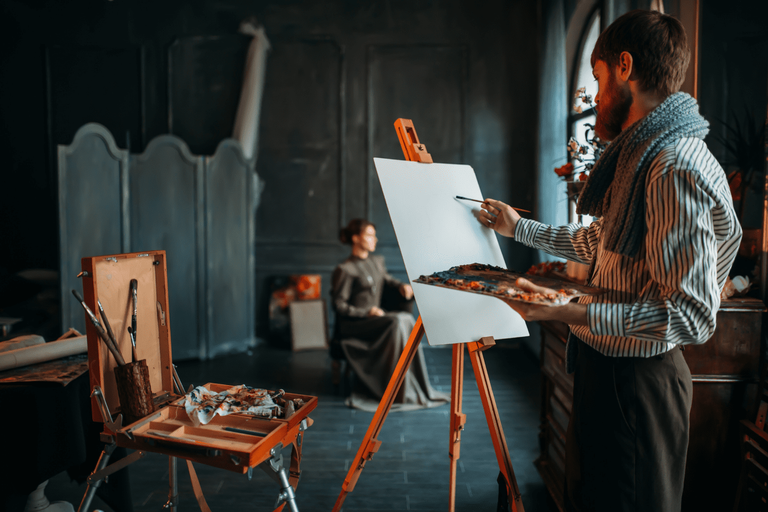 get paid to draw Portraits and Sketches