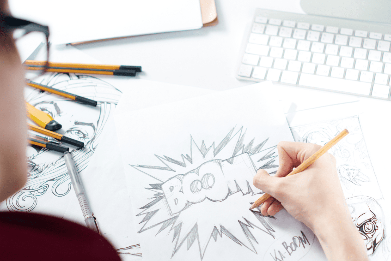 get paid to draw cartoons