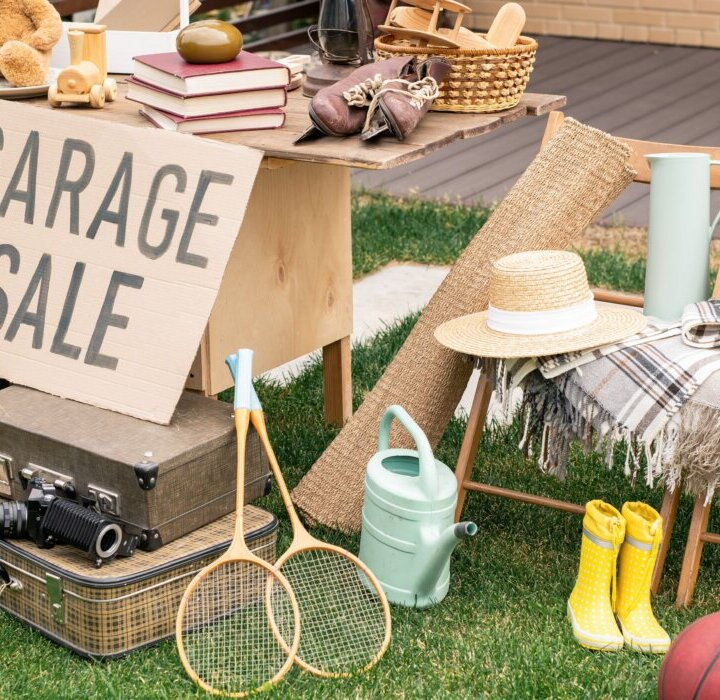 garage sale for things you can sell to make money