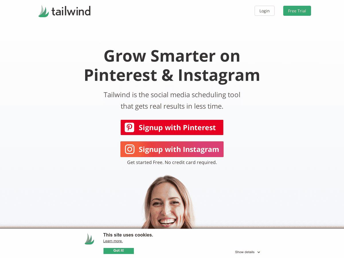 Tailwind_ #1 Pinterest & Instagram Scheduler and Analytics Tool
